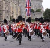 bandgrenadieren skydd marsch Royaltyfri Bild