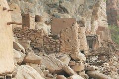 Bandiagara Cliffs. Dogon Country in Mali - Bandiagara Cliffs Stock Photography