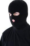 Bandido en máscara Fotos de archivo