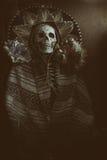 Bandido mexicano Skeleton Foto de archivo libre de regalías