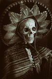 Bandido mexicano Skeleton Fotografía de archivo