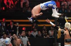 Bandido-Mexikaner-Ringkämpfer Stockfoto