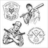 Bandidos y gamberros - vida nocturna criminal libre illustration
