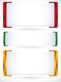 bandiera 3d. Fotografia Stock Libera da Diritti