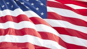 Bandiera americana Immagine Stock Libera da Diritti
