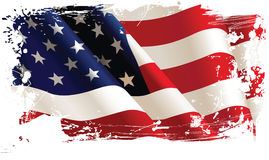 Bandiera americana royalty illustrazione gratis