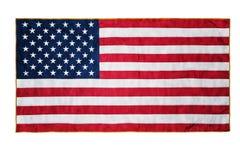 Bandiera americana Fotografie Stock