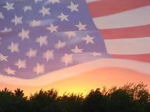 Bandiera americana 6 Fotografia Stock Libera da Diritti