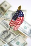Concetto nazionale di finanze Fotografia Stock Libera da Diritti
