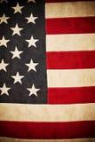 Bandiera americana antica   Immagini Stock