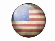 Bandiera americana di Grunge Immagini Stock Libere da Diritti