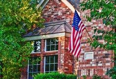 Bandiera americana patriottica Fotografia Stock Libera da Diritti