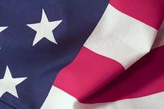 Bandiera americana: Stelle e bande Fotografia Stock Libera da Diritti