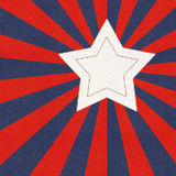 Bandiera americana stilizzata Fotografia Stock Libera da Diritti