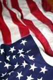 Bandiera americana in su 6 vicini Fotografie Stock