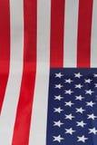 Bandiera americana sulla tavola Immagini Stock Libere da Diritti