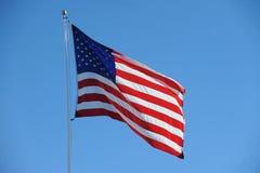 Bandiera americana U.S.A. Fotografia Stock Libera da Diritti