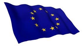 Bandiera animata di Unione Europea royalty illustrazione gratis