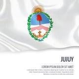 Bandiera argentina di Jujuy dello stato Immagini Stock