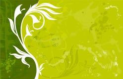 Bandiera floreale astratta stock vettoriali ed illustrazioni