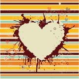 Bandiera astratta per gli amanti Fotografia Stock Libera da Diritti