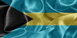 bandiera Bahamas Fotografie Stock