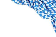 Bandiera bavarese Fotografia Stock Libera da Diritti