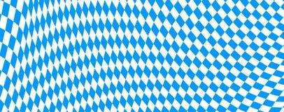 Bandiera bavarese Immagini Stock Libere da Diritti
