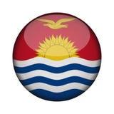Bandiera in bottone rotondo lucido dell'icona royalty illustrazione gratis