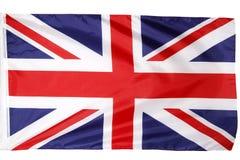 Bandiera britannica Fotografie Stock Libere da Diritti