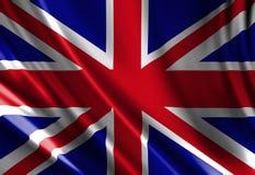 Bandiera BRITANNICA illustrazione vettoriale