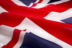 Bandiera britannica Fotografia Stock Libera da Diritti