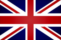 Bandiera britannica illustrazione di stock