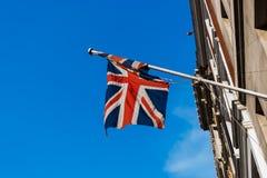 Bandiera britannica Immagine Stock