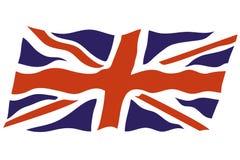 Bandiera britannica Fotografia Stock