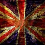 Bandiera BRITANNICA Immagini Stock