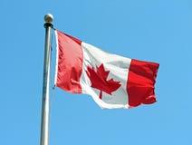 Bandiera canadese immagine stock libera da diritti