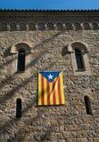 Bandiera catalana, Spagna Immagine Stock Libera da Diritti