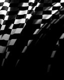 Bandiera Checkered Immagine Stock