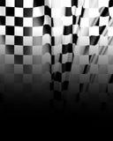 Bandiera Checkered illustrazione di stock