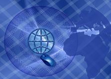 Bandiera: Commercio e collegamenti di WW Immagini Stock