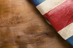 Bandiera Costa Rica Immagini Stock