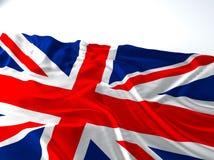 Bandiera d'ondeggiamento dell'Inghilterra Fotografia Stock