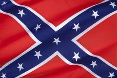 Bandiera degli stati dell'america confederati Immagine Stock Libera da Diritti