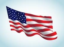 Bandiera degli Stati Uniti Immagini Stock