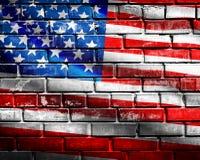 Bandiera degli Stati Uniti Immagini Stock Libere da Diritti