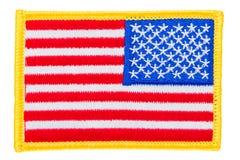 Bandiera degli Stati Uniti Fotografia Stock Libera da Diritti