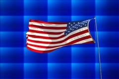 Bandiera degli Stati Uniti Fotografia Stock
