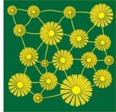 Bandiera dei fiori Background royalty illustrazione gratis