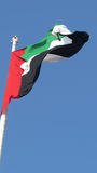 Bandiera dei Uae Fotografie Stock
